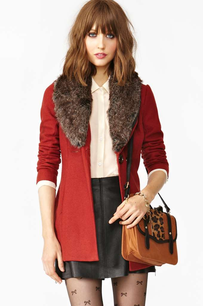 Florence Coat in  Clothes Jackets   Coats at Nasty Gal