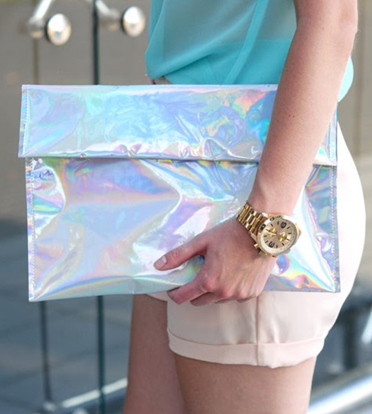 Luxurious Mix Colorful Silvery Bag | Choies