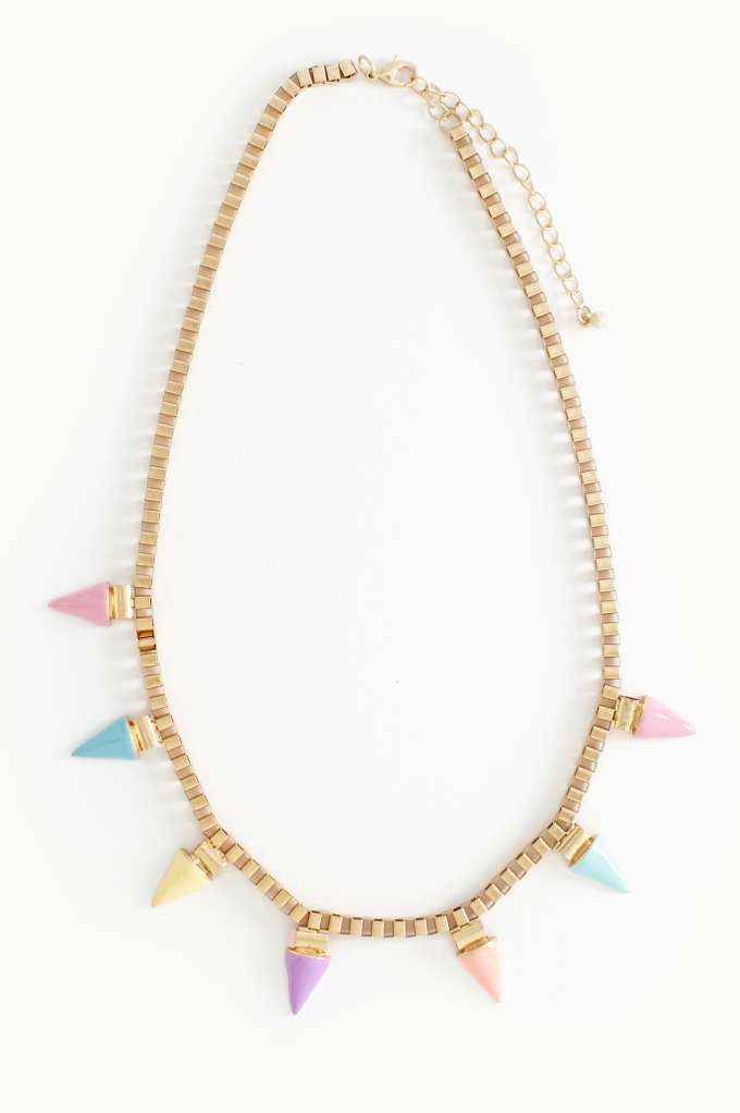 Soft Spike Collar Necklace | Shop Accessories at Nasty Gal