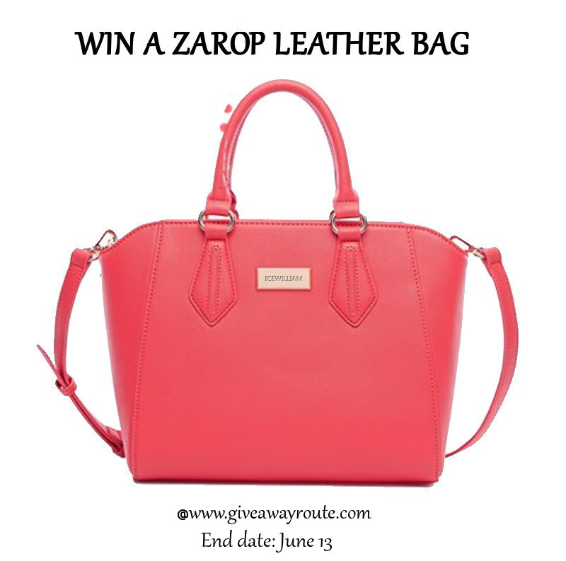 Zarop Leather Bag Giveaway | Giveaway Route