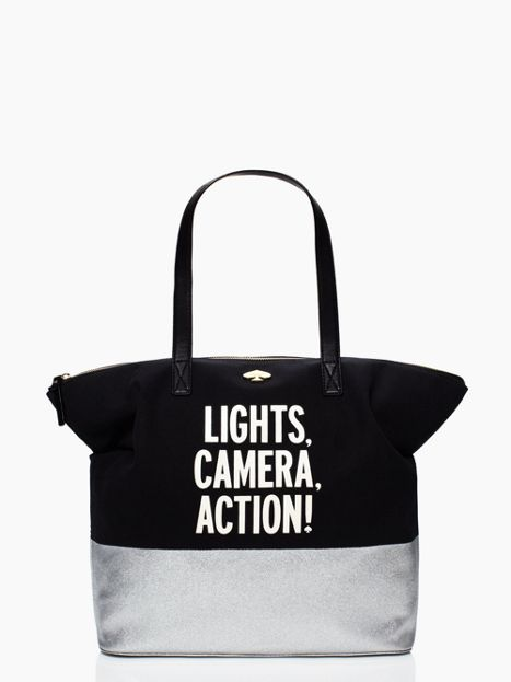 lights camera action terry - kate spade new york