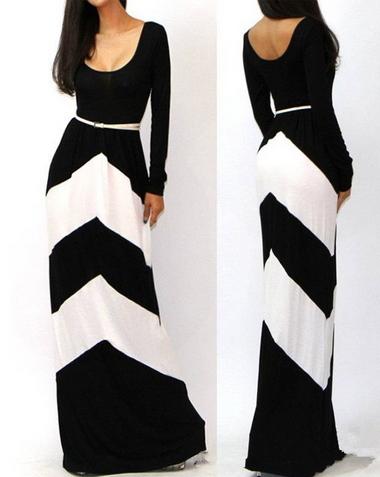 Long Boho Dress - Juicy Wardrobe