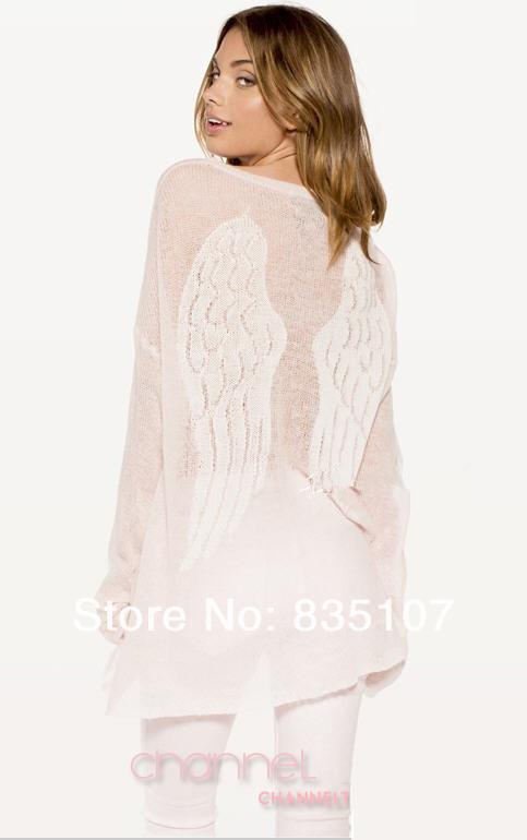 new wildfox angel wings crochet korean style sweater winter womens plus size sweaters european vintage pullover cardigans women -in Pullovers from Apparel & Accessories on Aliexpress.com