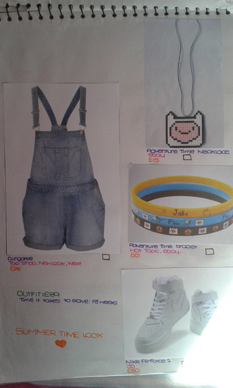 jewels adventure time romper bracelets shoes jumpsuit dungaree thecarriediaries carrie