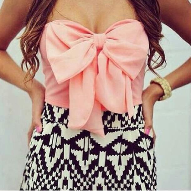 blouse bow shirt