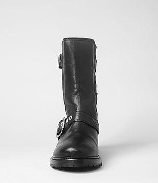 Womens Kawai Shearling Boot (Black) | ALLSAINTS.com