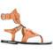 Isabel marant étoile jalys sandals, women's, size: 37, brown, leather
