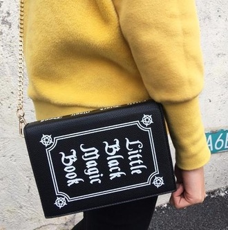 bag tumblr black