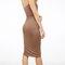 Solid basic tube dress