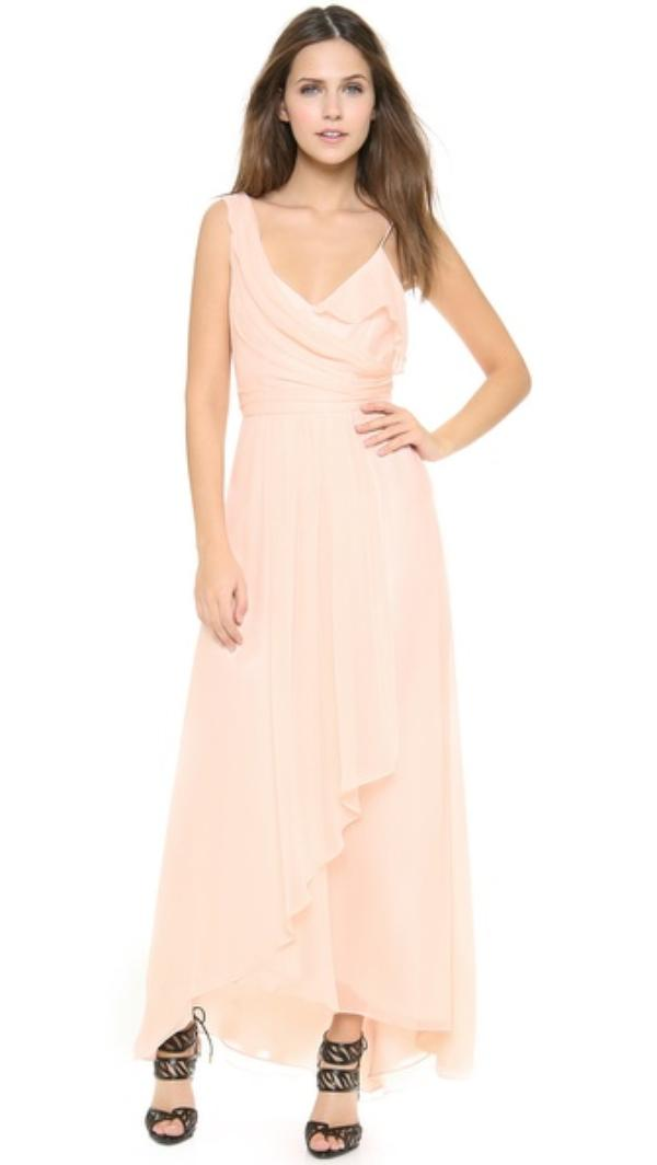 Jill Jill Stuart One Shoulder Dress Pink - Woman - Clothing - Habbage