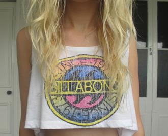 shirt billabong california girl beauty top girl crop tops girly