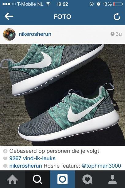 shoes mint nike free run