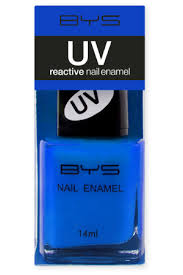 BYS UV Nail Polish - Blue Bolt