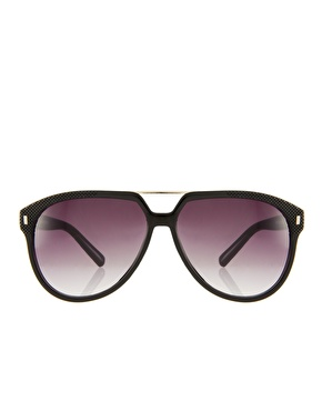 Jeepers Peepers   Jeepers Peepers Aaron Black Sunglasses at ASOS