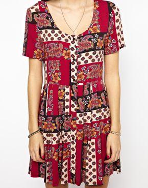 Minkpink | Minkpink Princess Of Persia Skater Dress at ASOS