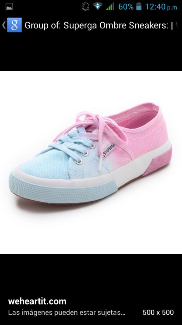 shoes superga supergas pink shoes blue shoes