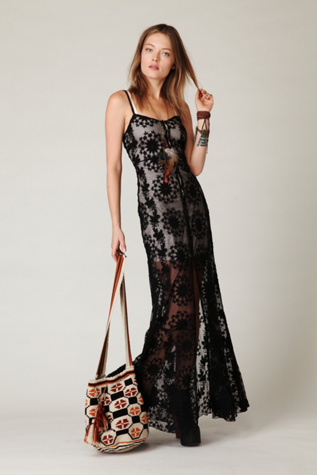 free people womens queen of flowers maxi slip