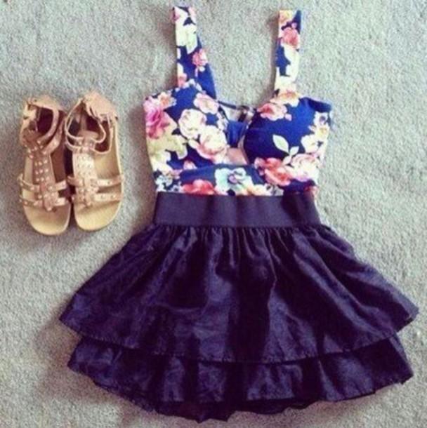 dress short hipster vintage fashion