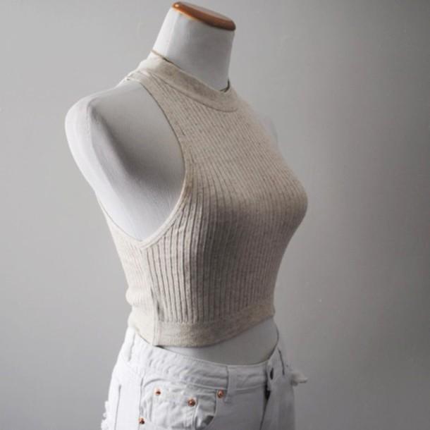 sweater knit top knitwear cute