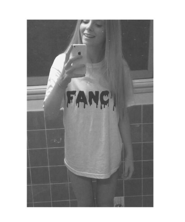 t-shirt tumblr shirt white trippy