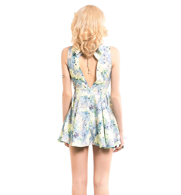 dress summer dress fashion style cute pretty
