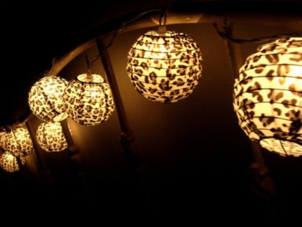 lamp leopard print bedding love dorm room