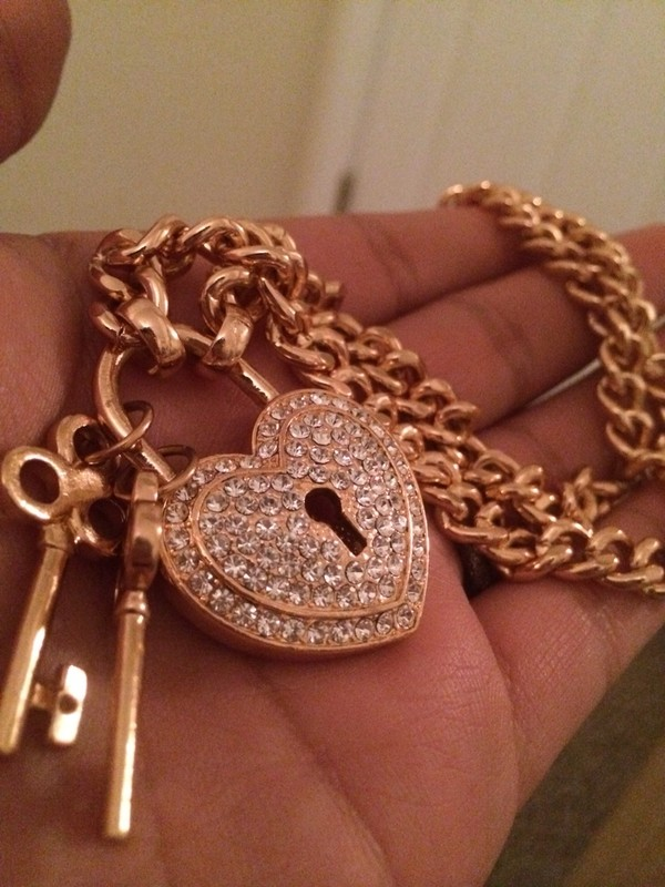 jewels necklace cute diamonds jewelry beautiful gold key locket
