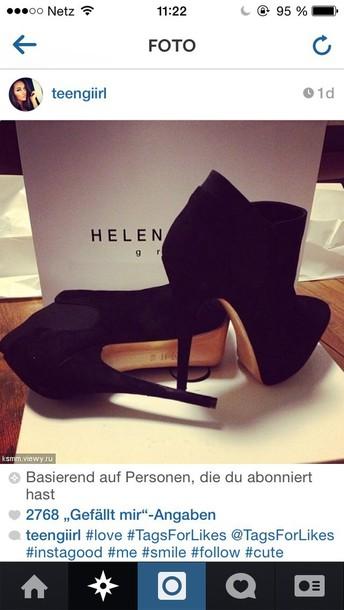 shoes black high heel boots heels lether black lether black shoes high heels