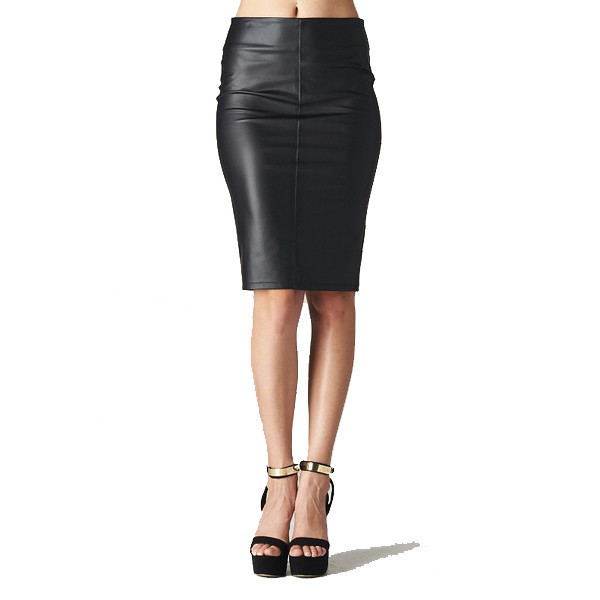 skirt venta leather faux black mid length pencils makeup table vanity row dress to kill chic