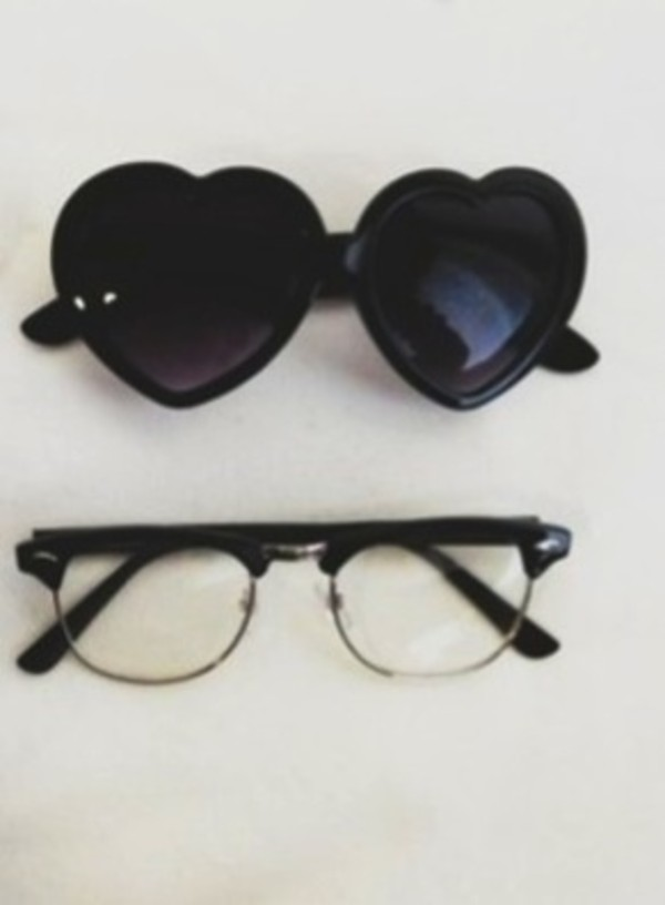sunglasses hippie glasses glasses black grunge soft grunge sweet girly nerd glasses indie hipster hippie