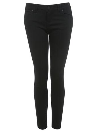 Petites Twill Skinny Jean - Jeans & Denim  - Clothing  - Miss Selfridge