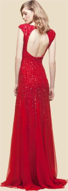 dress ei saab 2012 resort collection sequin dress