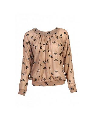 ASOS Fashion Finder | Cat Print Split Back Top