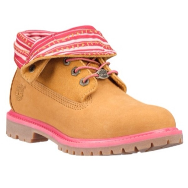 shoes timberlands boots pink