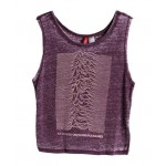 Pure Purple Tank with Printing and Dyeing - Tanks & Vest Tops - T-shirts & Tanks - Clothing