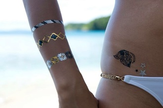 jewels tattoo jewels fake tattoos temporary accessories tattoo temporary tattoo accessory accsesorize accessories style style fashion spring break