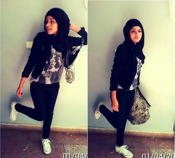 jumpsuit lookbook hijab