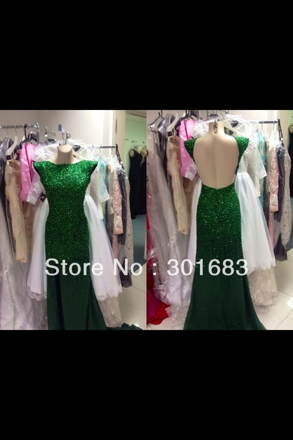 dress aliexpress green dress shimmer sparkling dress