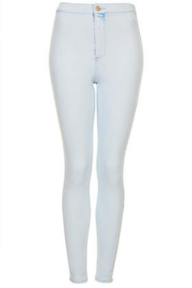 MOTO Bleach Extracted Joni Jeans - Topshop