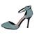 Sequin Rhinestone Metal Pointed Toe Stiletto Heel Sandal : KissChic.com