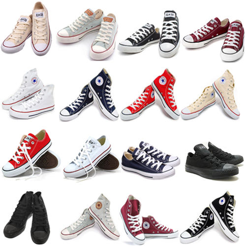 Converse Chuck Taylor as Core Ox Low Hi All Color All Star Sneakers Men Women   eBay