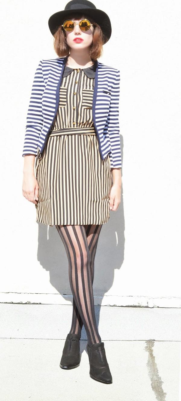 a fashion nerd sunglasses shoes dress