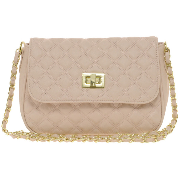ASOS Nude Quilted Cross Body Bag - Polyvore