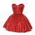 Red Sequin Tutu Dress | Style Icon`s Closet