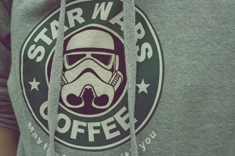 sweater star wars starbucks coffee sweatshirt coffee