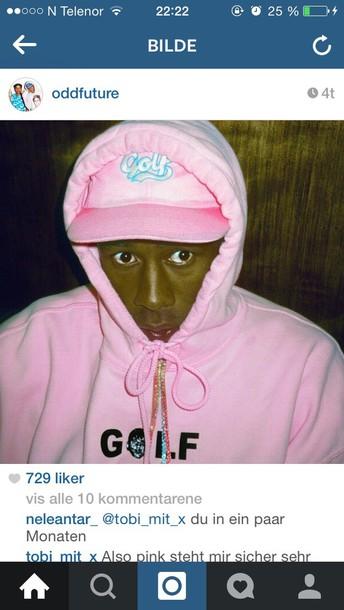 tyler the creator hoodie pink