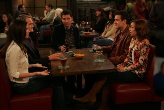sweater lily aldrin floral cardigan how i met your mother