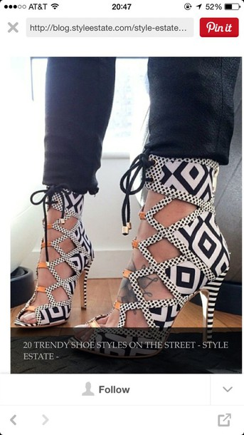 shoes tribal shoes