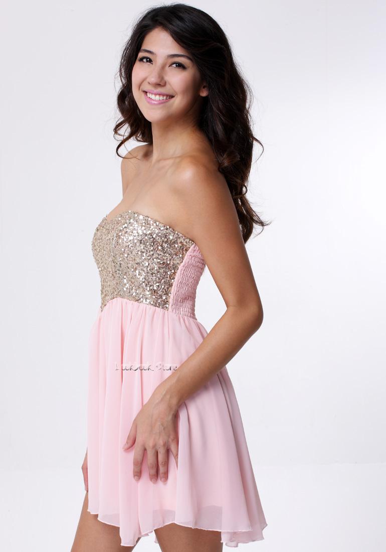 Women Sequins Sweetheart Neck Asymmetric HEM Stretch Prom Dancing Bodice Dress   eBay