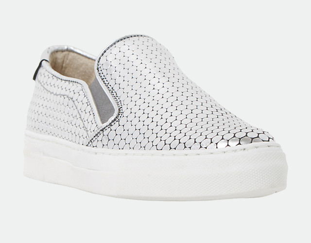20 Pairs Of Silver Sneakers To Consider This Spring